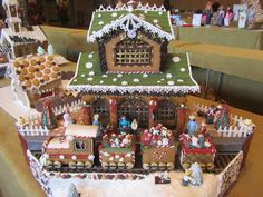IMG_4073.JPG 1,600×1,200 pixels gingerbread train station