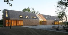 Admin building for Opole Rural Museum by db2 Architekci - Dezeen