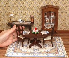 Click to see the kits in my Online Shop Doll House Needlepoint by Janet Granger