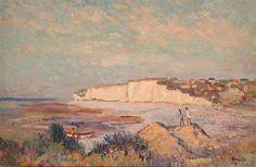 The cliffs of Criel par Albert Malet Cliff, Artist, Painting, Artists, Painting Art, Paintings, Painted Canvas, Drawings