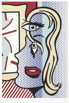 Art Critic - Roy Lichtenstein 1996.