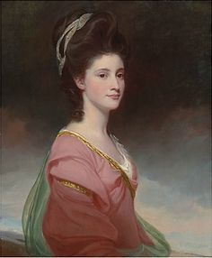 View Portrait of Elizabeth Ramus daughter of Nicholas Ramus and subsequently wife of Baron de Nougal, half-length, in a pink dress. by George Romney on artnet. Browse upcoming and past auction lots by George Romney.