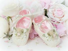Romantic Victorian Home Collection: Baby Shoes