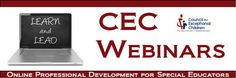 #Principals attend #CEC #Live Webinars - #SpecialEducation Avoid #Litigation #Discipline  #SWDs  #IEP #students #disabilities