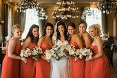 @mikaellabridal | A beautiful Mikaella bride and her bridesmaids #Mikaella #MikaellaBridal #wedding #weddingdress #ido #engaged #married #justmarried #dress #bridesmaids #orange #Florida #Floridawedding #weddinginspiration