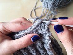 Вяжем повязку-чалму крючком, фото № 21 How To Knit, Head Bands, Caps Hats, Tejidos, Tricot