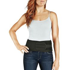 Women's Tommie Copper Adjustable Comfort Back Brace, Black