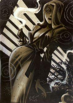 Arte de Bruce Timm.