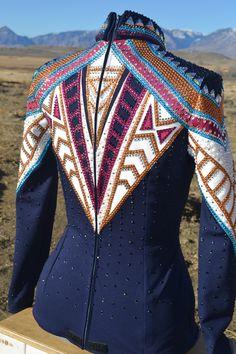 KLS Designs Show Clothing Custom Western Horsemanship Shirt! Check us out on Facebook!!