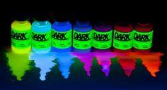 Blacklight Reactive Fabric Dye - Create UV Glow in the Dark Effect on Costumes!