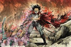 "Image of ""Metamorphosis"" - Inspired by Akira"