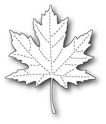 POPPY STAMPS: Majestic Maple Craft Die This package contains Majestic Maple Craft Die: one image die. Approximate measurements: xPoppy Stamp Dies - Memory Box - Majestic Maple now available at The Rubber BuggyPoppystamps 1562 Majestic Maple wafer thi Maple Leaf Template, Leaf Template Printable, Menue Design, Felt Crafts, Paper Crafts, Leaf Stencil, Memory Crafts, Bead Embroidery Jewelry, Flower Template