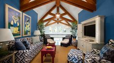 HGTV® Dream Home 2013 on Kiawah Island Sponsored by Sherwin-Williams.... Living room