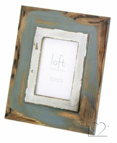 Rustic duck egg photo frame 5 x 3.5 - £7.67 - A fantastic range of Rustic Duck Egg Photo Frame 5 X 35 from Listers Interiors | Bedding, Curtains, Furniture, Accessories & more