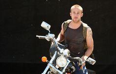 Ryan Gosling and bike