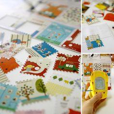 Craft Punch - Postage stamp can be made by karaku*, via Flickr