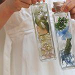 herbarium ハーバリウム ブルー&グリーン http://www.vingtquatre.com