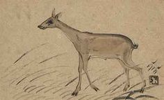 NANDALAL BOSE (1882-1966) Untitled (Deer)