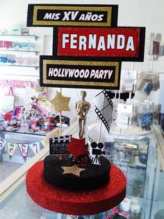 Centro de mesa Hollywood                                                                                                                                                      Más