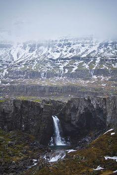 Folaldafoss við Öxi (Foal Waterfall) - Iceland by banzainetsurfer, via Flickr