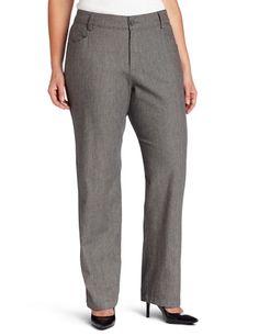 Lee Women`s Plus-Size Relaxed Fit Plain Front Pant $29.99