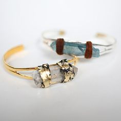 Get in-style with this gorgeous and budget-friendly Luxe Quartz Bangle. This DIY jewelry project is one of the easier and more sophisticated DIY bracelets to make. Charming and gorgeous, this chic DIY bracelet makes the perfect gift for friends and family members.