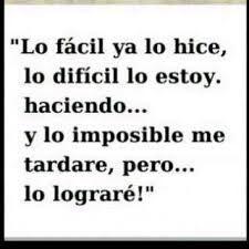 Me encanto y lo comparto contigo, yo estoy en lo imposible y TU? http://marijoyjose.com/ #formacionsyo