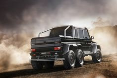 Brabus 700 6x6. Watch how these guys make the best cars even better...