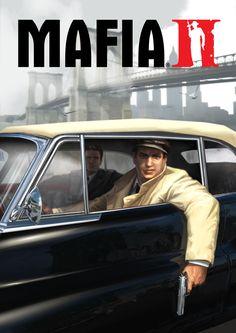 Poster from Mafia II Mafia Video Game, Mafia Game, Mafia 2, Checkers Board Game, Board Games, Xbox 360, Gamer Names, Mafia Wallpaper, Illinois