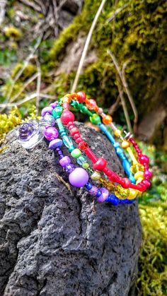 CADEAU ORIGINAL BRACELET MANCHETTE MON RAINBOW : Bracelet par la-fabrique-des-elfes