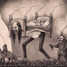 John Kenn Mortensen, pesadillas ilustradas - El FanzineEl Fanzine