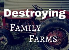 Some people are celebrating the ends of family farms. Find out who they are....