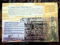 Trench rules Creative Skills, Mail Art, Trench, Art Projects, How To Make, Art Designs