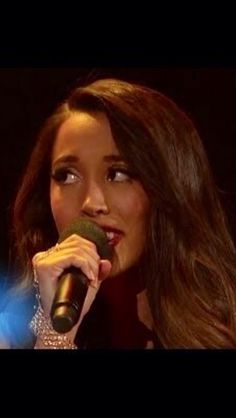 Sierra from Alex and Sierra on The X Factor