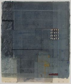 林孝彦 HAYASHI Takahiko   D-5.Nov.2001  painting,collage