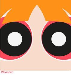 Powerpuff Girls Minimalist on Behance