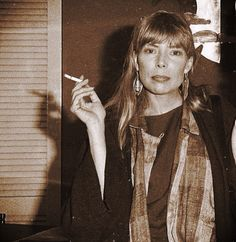 Joni Mitchell, in the 1970s.