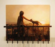 Shintaro Ohata / ''2'' (painting, polystyrene based sculpture)