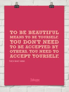 We should all feel this beautiful – to care only what we think of ourselves and not what others think, especially in this self absorb cynical world.