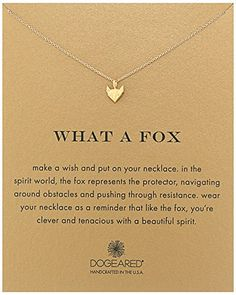 Dogeared What A Fox, Geometric Fox, Gold Chain Necklace, ... https://smile.amazon.com/dp/B01H00JENG/ref=cm_sw_r_pi_dp_x_3GQcybTB3A3TZ
