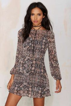 After Party Vintage Heather Floral Dress