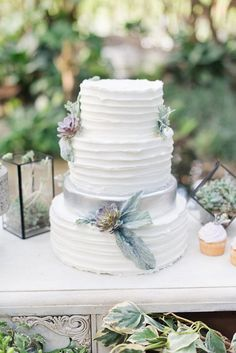 Cobalt Blue And Sage Green Intimate Garden Wedding Intended For Green And Silver Wedding Cakes Pastel Wedding Colors, Pink Wedding Theme, Wedding Sweets, Green Wedding, Pastel Weddings, Blue White Weddings, Wedding Cake Inspiration, Wedding Ideas, Amazing Wedding Cakes