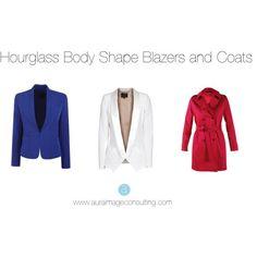 hourglass body shape blazers