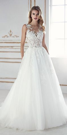 a line sweetheart lace wedding dresses 2018