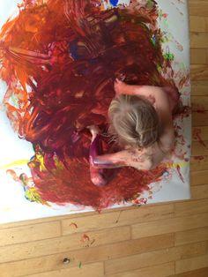 Experimentacion con pintura!