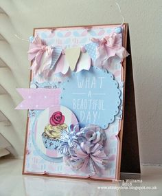 Want great tips and hints concerning arts and crafts? Go to this fantastic info! Craftwork Cards, What A Beautiful Day, Arts And Crafts, Paper Crafts, Craft Work, Cardmaking, Card Ideas, Birthday Cards, Projects To Try