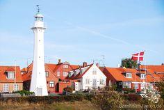 Leuchtturm in Rønne, Dänemark #leuchtturm #lighthouse #ronne #roenne #daenemark