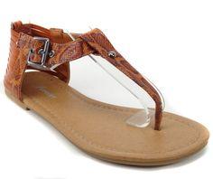 Kids' summer fashion trends 2012 - Girls Flat Sandal