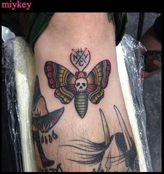 done by miykey NYHC tattoo NYC LES #miykey