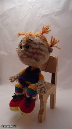 Один из способов, как связать ручки для игрушек - Ярмарка Мастеров - ручная работа, handmade